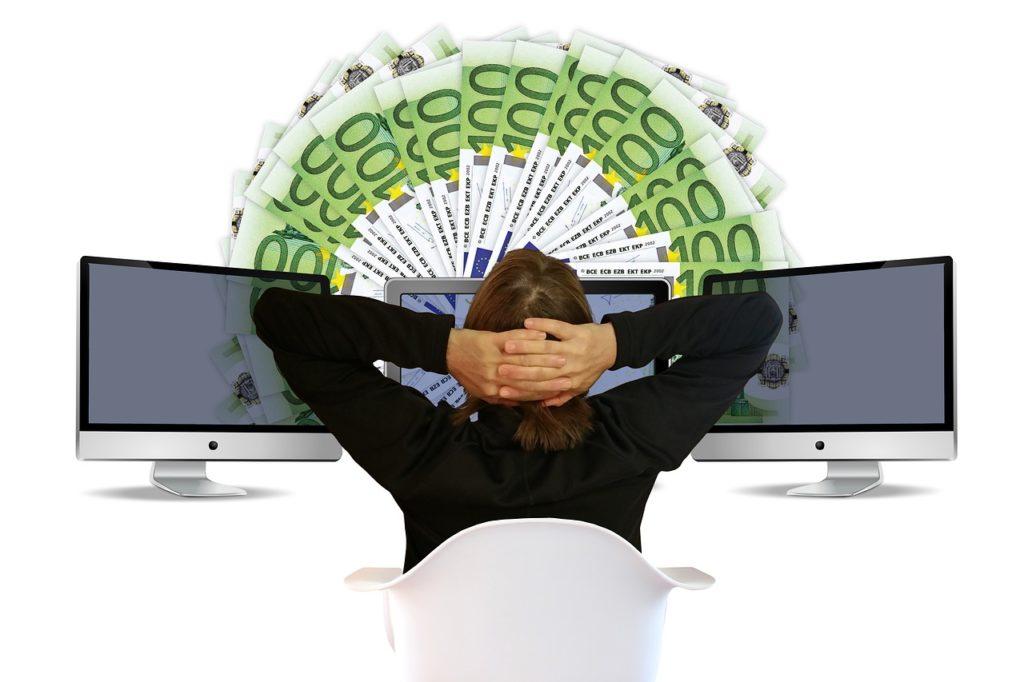 Woman Euro Earn Money Online Earn