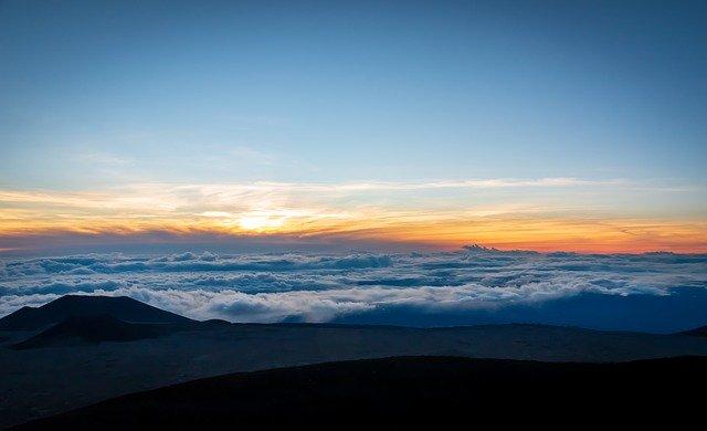 Mauna Kea Hawaii Panorama Landscape